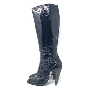 Just Cavalli Patent Leather Boots